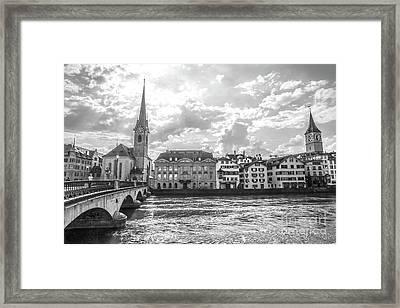 Zurich II Framed Print
