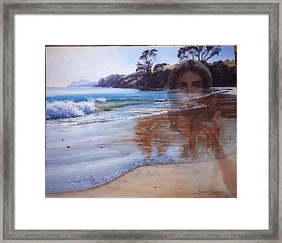 000068 Framed Print