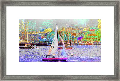 1-13-2009babcdefghij Framed Print
