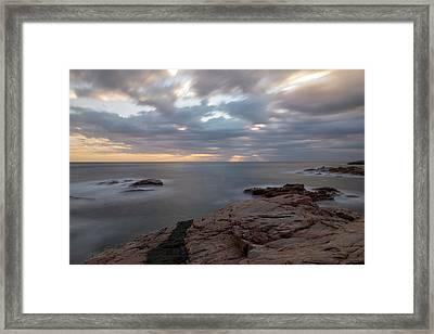Sunrise On The Costa Brava Framed Print