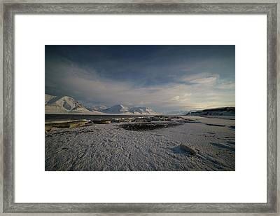 Adventfjorden Framed Print