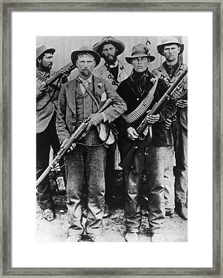 Armed Afrikaners Framed Print by Hulton Archive