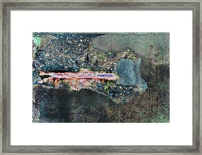 Framed Print featuring the photograph Art Print Abstract 11 by Harry Gruenert