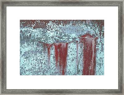 Framed Print featuring the photograph Art Print Abstract 20 by Harry Gruenert