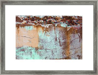 Framed Print featuring the photograph Art Print Abstract 25 by Harry Gruenert