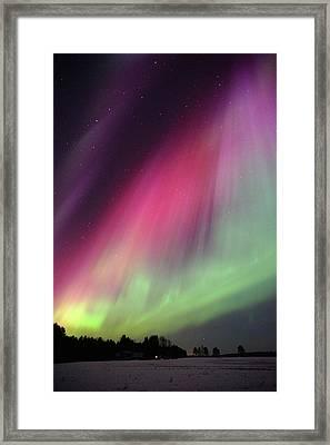 Aurora Borealis Framed Print by Eerik