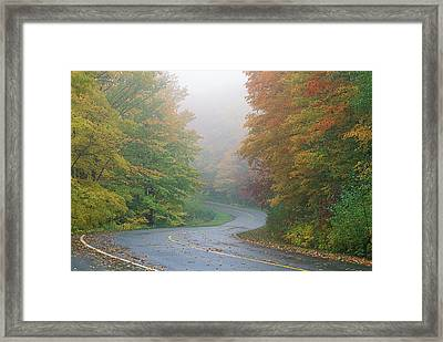 Autumn, Gatineau Park, Quebec, Canada Framed Print