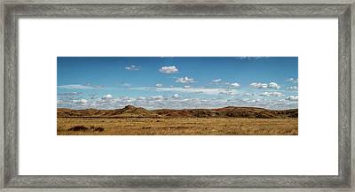 Framed Print featuring the photograph Big Basin Panorama by Scott Bean