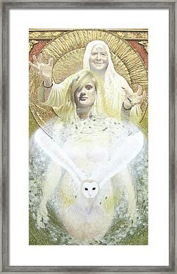 Blodeuwedd  Framed Print by Yuri Leitch