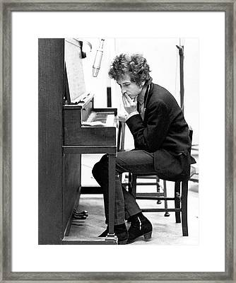 Bob Dylan Records Highway 61 Revisited Framed Print