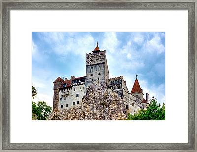 Framed Print featuring the photograph Bran Castle by Fabrizio Troiani