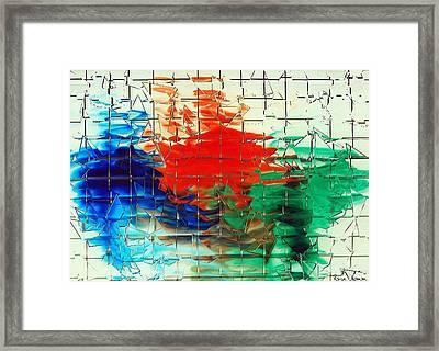 Broken Framed Print