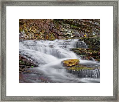 Framed Print featuring the photograph Cascade 2 by Patrick M Lynch