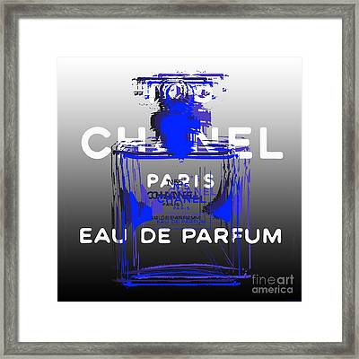 Chanel No 5 - Pop Art Framed Print