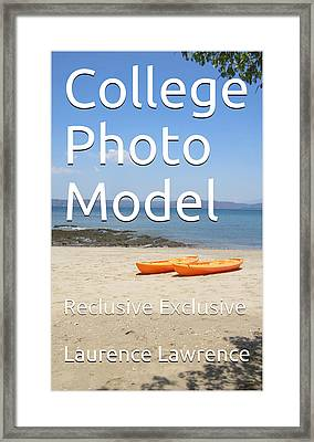 College Photo Model K Framed Print