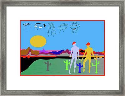 Cover Or Spy 08 Framed Print