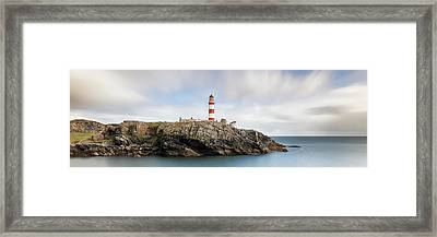 Framed Print featuring the photograph Eilean Glas Lighthouse - Western Isles by Grant Glendinning