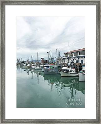 Fisherman's Wharf Framed Print