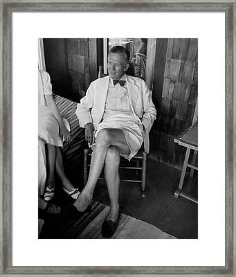George C. Marshall Framed Print by Thomas D. Mcavoy