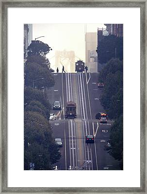 Framed Print featuring the photograph Good Morning San Francisco by Quality HDR Photography