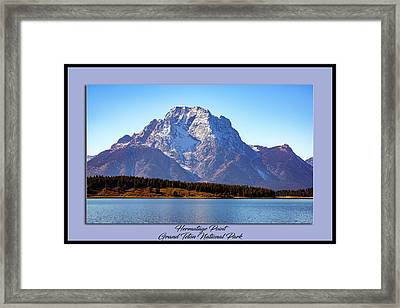 Framed Print featuring the photograph Hermitage Point by Pete Federico