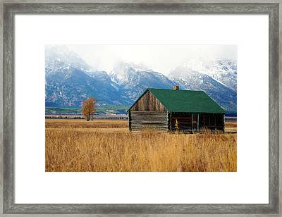 Framed Print featuring the photograph Home On The Range by Pete Federico