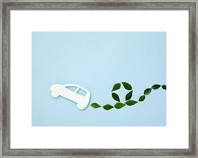 Image Of Eco Car Framed Print by Imagenavi