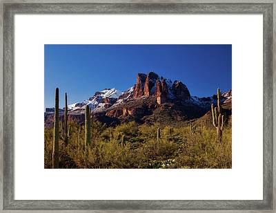 Into The West Framed Print
