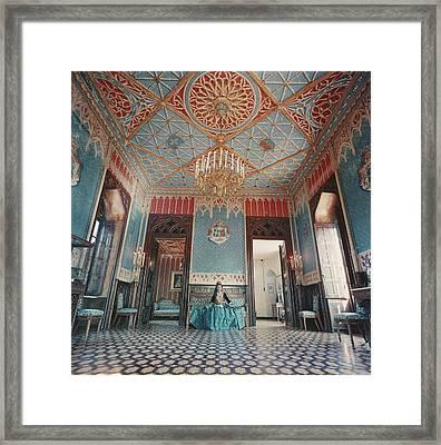 Jean Serpieri Framed Print