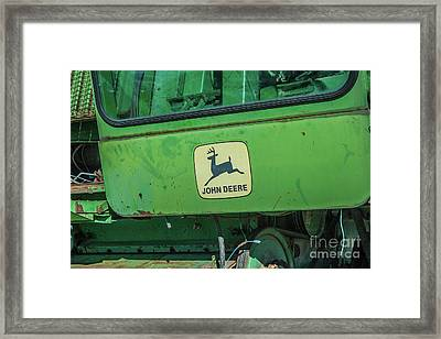 John Deere Framed Print