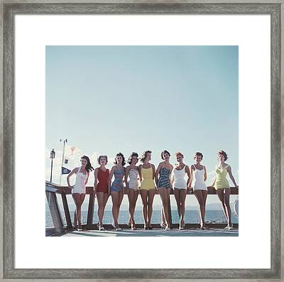 Lake Tahoe Ladies Framed Print