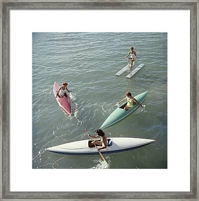 Lake Tahoe Trip Framed Print