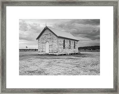 Little Paddocks Chapel Framed Print