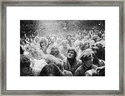 Lyceum Gig Fun Framed Print by C. Maher