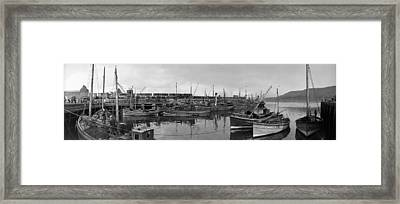 Mallaig Harbour Framed Print by Alfred Hind Robinson