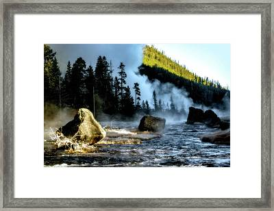 Framed Print featuring the photograph Misty Morning by Pete Federico