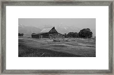 Mormon Barn Framed Print