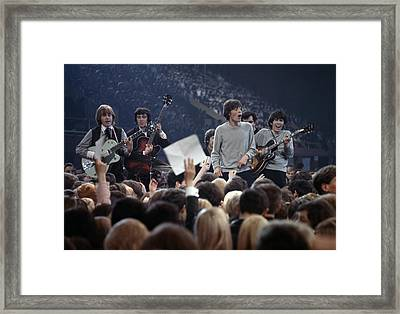 Music. 1964. London. The Rock Band The Framed Print by Popperfoto