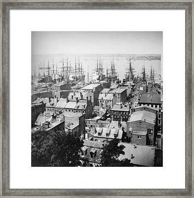 New York Harbour Framed Print by William England