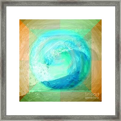Ocean Earth Framed Print