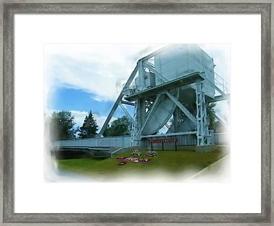 Pegasus Bridge Framed Print