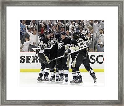 Philadelphia Flyers V Pittsburgh Framed Print