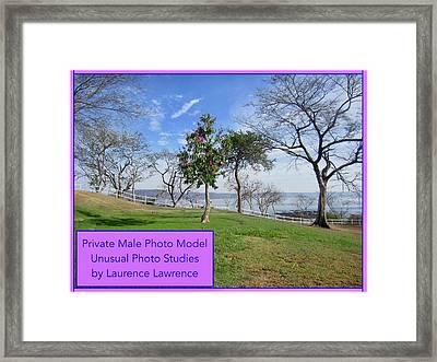 Private Photo Model Bn Framed Print