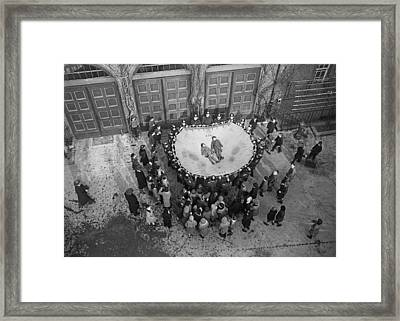 Safety Net Framed Print by Fpg