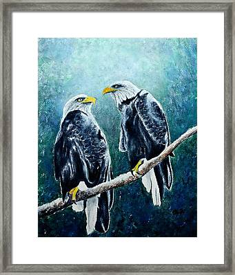 Saved From Extinction Framed Print