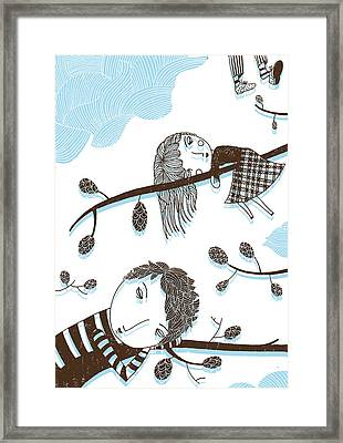 Sweet Dreams Framed Print by Luciano Lozano