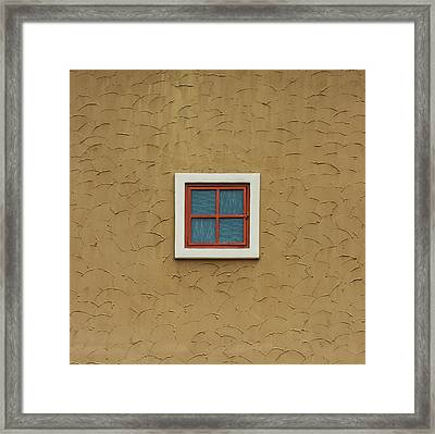Texas Windows 3 Framed Print