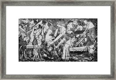 The Black Death Framed Print by Hulton Archive