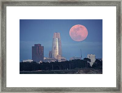 Framed Print featuring the photograph The Great Gig In The Sky by Quality HDR Photography