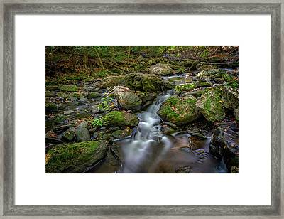 Framed Print featuring the photograph Vaughan Brook by Rick Berk